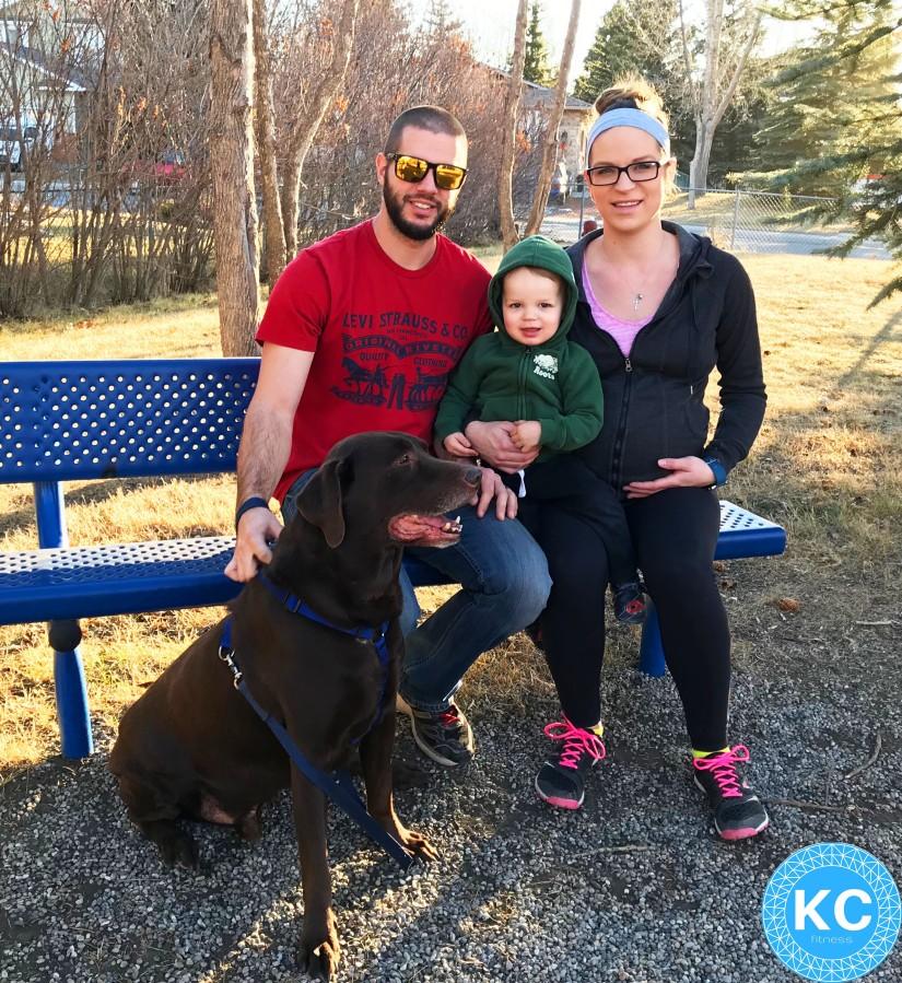 family of 3 KCFITNESS